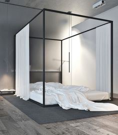 bedroom / Igor Sirotov | The Frame House