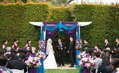Teal And Purple Wedding | Purple and Teal Wedding Ideas | Weddinary.com