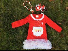 Girls Christmas Dress Girls Christmas by craftingballerinamom