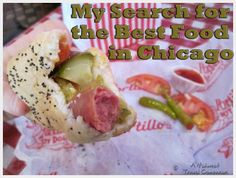 On an expedition to find the best food in Chicago, I try a Chicago style hot dog, a famous Chicago Italian beef sandwich and a slice of iconic Chicago style pizza! Italian Beef Sandwiches Chicago, Chicago Italian Beef, Hot Dog Recipes, New Recipes, Hot Dog Buns, Hot Dogs, Chicago Style Pizza, Exotic Food, Food And Drink