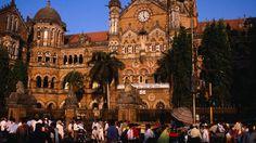 Gothic façade, Victoria Terminus, Mumbai