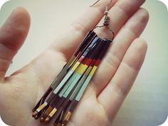 DIY bobby pin earrings!