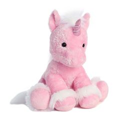 Aurora World Inc. 16 Unicorn Plush Toy ❤ liked on Polyvore featuring fillers, stuffed animals, plush and plushies