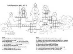 The Transfiguration Coloring Page