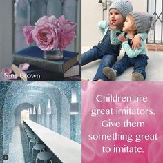 Children | Nina Brown Beautiful Collage, Beautiful Words, Color Combos, Color Schemes, Word Collage, Collages, Kind Words, Happy Weekend, My Favorite Color