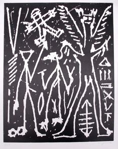 Penck Nachtvision sometimes he reminds me of a slightly darker klee Moma, Christian Marclay, Socialist Realism, Cheap Paintings, Ares, Art Academy, Panel Art, Oil Painting Abstract, Outsider Art
