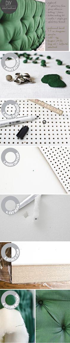 DIY upholstered headboard – Husligheter.se