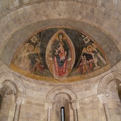 Apse, 1175–1200  Spanish; from the Church of San Martin, Fuentidueña, Segovia  Limestone