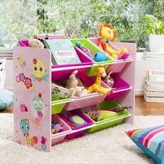 Contribuye al orden de las habitaciones de tus niños desde ahora, prefiriendo llamativos organizadores de juguetes, y que ordenar sea mucho más entretenido. #SodimacHomecenter