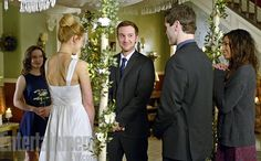 'Being Human' First Look: Josh and Nora get married! Kristen Hager  Huntington - Being Human SyFy