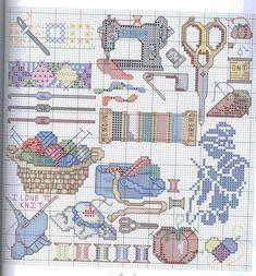 Schema punto croce Cucito-e-ricamo