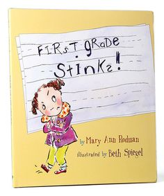 Another great find on #zulily! First Grade Stinks! Hardcover #zulilyfinds