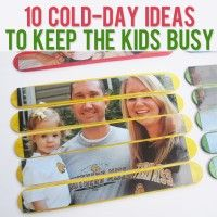 10 Cold-Day Ideas to Keep Kids Busy  #howdoesshe #10ideastokeepidsbusy #kidideas #kidactivities  howdoesshe.com