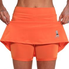 e3c5f252c8 Don't get caught in a tractor beam! Running Skirts mandarin athletic skirts  with