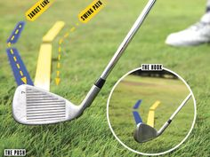 How To Hit Your Irons Straight - how to hit irons straight. Golf Tips For Beginners Driving Ladies Golf Bags, Golf Score, Golf Putting Tips, Golf Day, Golf Instruction, Golf Tips For Beginners, Perfect Golf, Golf Training, Golf Irons