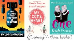 Giving away these 3 books!!!