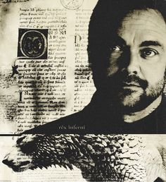 Crowley, rex inferni (king of hell) #Supernatural