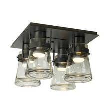 Erlenmeyer 4 Light Semi-Flush by Hubbardton Forge