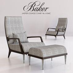 BAKER JASPER LOUNGE CHAIR