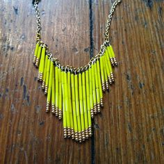 Yellow fringe $40 by duodc, via Flickr    www.facebook.com/shopduo