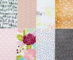 Add-on Patterned Paper - February 2015 at @studio_calico