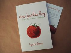 Kyrstie Barcak Author Grow Just One Thing, and Blogger - A Fresh Legacy is one of our speakers at The Nest on the 3rd&4th December   afreshlegacy.net/product/grow-just-one-thing-book