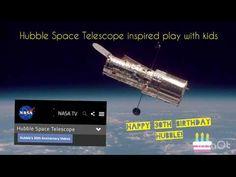 Hubble Space Telescope inspired play with kids Helix Nebula, Orion Nebula, Andromeda Galaxy, Tv Happy, Galaxies, Nebulas, Carina Nebula, Hubble Images, Star Formation