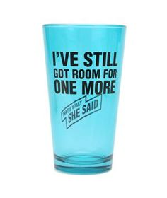 This shot glass is for who exactly?