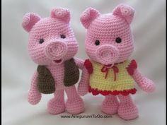 Crochet Along Elephant - YouTube