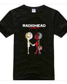 Radiohead the best of  black t shirt for boys rock style-