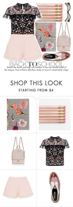 """""""GO BACK-TO-SCHOOL SHOPPING!"""" by noraaaaaaaaa ❤ liked on Polyvore featuring Christian Lacroix, Needle & Thread, STELLA McCARTNEY, Robert Clergerie and BackToSchool"""