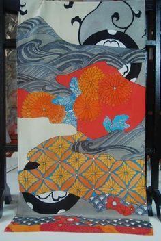 5b8b324cd0d50f Black Mon 200 x 55cm long scarf designed by Lynn Elzinga-henry Scarf Design