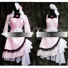 Creative Gothic Lolita Alice in Wonderland Polonaise Dresses Cosplay Costumes SKU-2010175