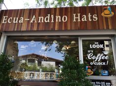 My Ecua-Andino Hats Cafe in Bangkok, Thailand. Line ID: dynamic09. Not only coffee, we also sales a Panama Classic Hats from Ecuador