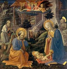 Fra Filippo Lippi Famous Paintings | image fra filippo lippi adoration of the child with the saints joseph ...
