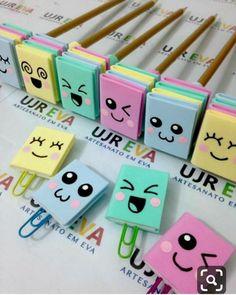 Lapices decorados con libros Kids Crafts, Diy Crafts For Gifts, Foam Crafts, Creative Crafts, Easy Crafts, Bookmark Craft, Diy Bookmarks, Origami Bookmark, Diy Marque Page