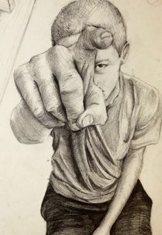 Project 1: Foreshortening - art and Desgin II