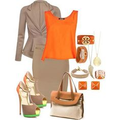 Businesswoman chic. Shoes = LIFE!