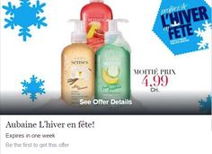 Avon Rep Tip: Pure pleasure for your hands: Sense hand soaps available at just $ 4.99 each! Half price deal.