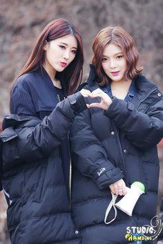 Nine Muses Hyuna & Sojin