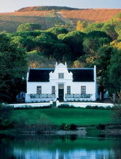 Zevenwacht vineyard, manor house, Kuils River - Cape Town