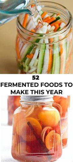 Kombucha, Fermentation Recipes, Canning Recipes, Real Food Recipes, Healthy Recipes, Photo Food, Probiotic Foods, Vegetable Recipes, Food To Make