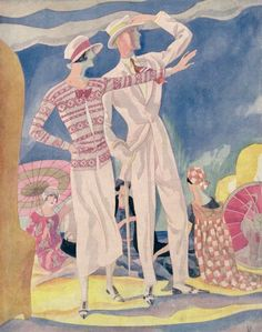 Following | Tumblr Art Deco Illustration, Arts And Crafts Movement, French Art, Aesthetic Fashion, Art Deco Fashion, World War Ii, Art Boards, Art Nouveau, Painting