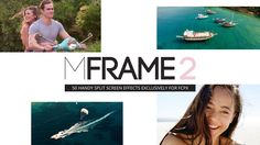 mFrame 2 - 50 Handy Split Screens Built Exclusively for Final Cut Pro X www.motionvfx.com/B4395 #FCPX #FinalCutProX