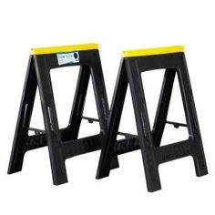 23 In. Compact Sawhorse (twin Pack)
