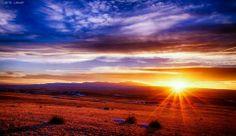 Pikes Peak Sunset,  Lars Leber photography