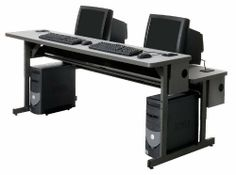 Split Level Workstation by Abco. $481.99. Two 2-1/4''W x 4-1/4''D grommets per top, total of 4 per workstation Full length, 9''H wire management trays with capped ends and wire pass-through Modesty panel wire pass-through slots Radius corners Height Adjustable ANSI/BIFMA Certified Laminated Surface Powder Coated Frame Scratch Resistant Leveling Glide Table Top Size: 1.25 Thick Height adjusts in 1'' increments front and rear Edge Style: Smooth T-mold Mulitple sizes and finishe...