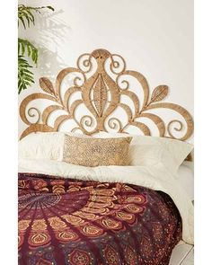 """""""Rope Lace Tiara Headboard,BROWN,ONE SIZE"""" from Urban Outfitters 