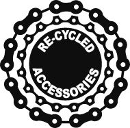 Recycled Jewelry from bike parts (3R's, reduce, reuse, recycle, used, upcycle, repurpose, use, uses, ideas, inspiration, old, fun, creative, bicycle, chain, tire)