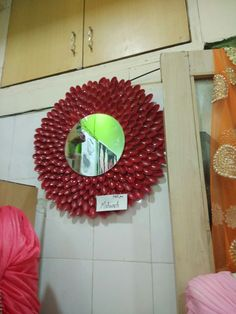 Spoon mirror created by me in fashion exhibition cadence 2017 ..